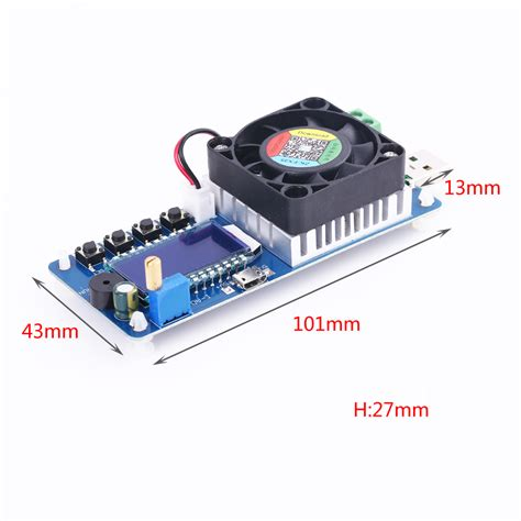 Electronic Load Tester Lcd Display Adjustable