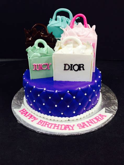shopping bag cake specialty cakes pinterest shopping