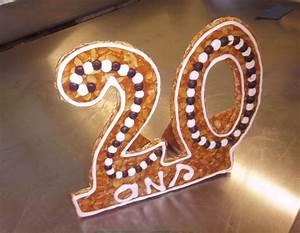 20 En Chiffre Romain : le chiffre 20 en nougatine ~ Melissatoandfro.com Idées de Décoration
