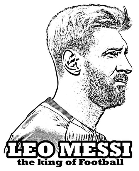 Kleurplaat Messi Ronaldo by Lionel Messi Coloring Page By Topcoloringpages On Deviantart