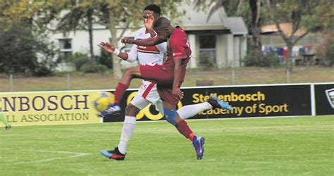 The chief operating officer at the club, edries burton stated the name 'stellenbosch fc' shows our intention. Stellenbosch FC 5, AmaTuks... niks   Netwerk24