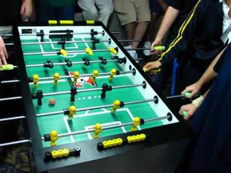 foosball fun      players