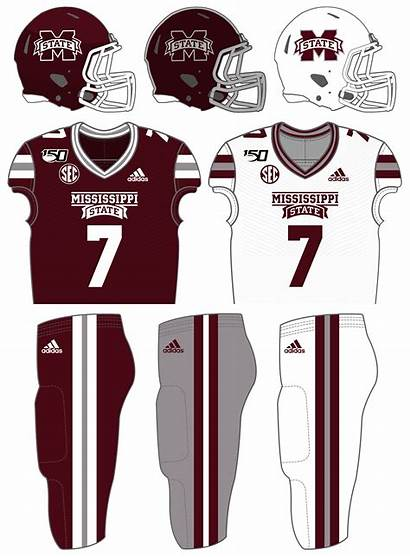 Mississippi Football State Uniforms Fb Bulldogs Player