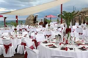 Decoration Mariage Rouge Et Blanc Chainimage