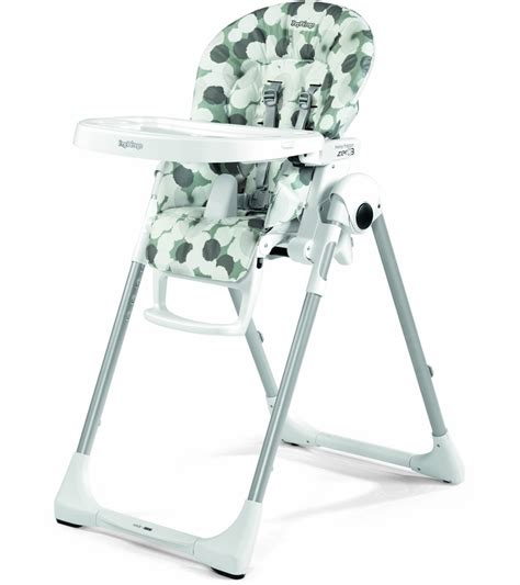 peg perego prima pappa zero 3 high chair nuvola grey