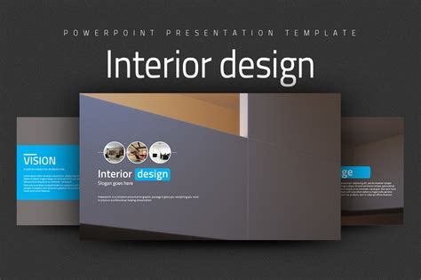 interior design  templates creative market