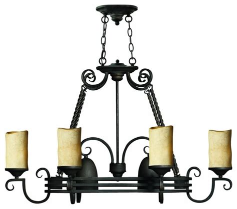 casa 8 light 38 quot lighted pot rack in olde black