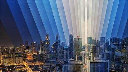 Lapse Singapore Downtown Sunset Motion Fqwimages Gifs