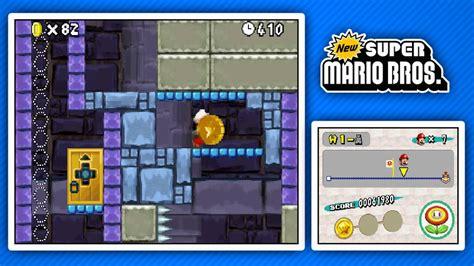 New Super Mario Bros Ds World 1 Youtube