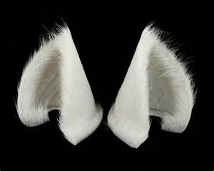 white cat ears sleek white cat ears nekomimi by storytellerzero on deviantart