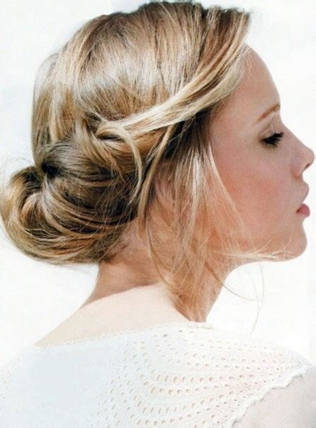 simple updo hairstyle for prom homecoming popular haircuts