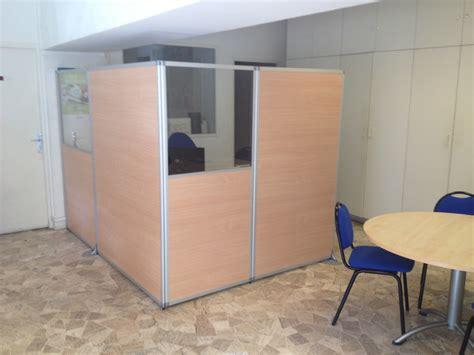 cloison amovible de bureau claustra bureau amovible bureau amovible en bois