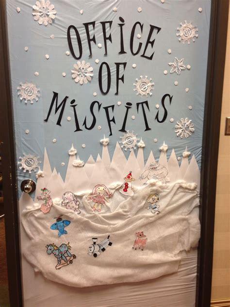easy office door decorations  christmas