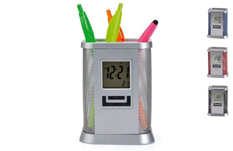 pot 224 crayons m 233 tallique horloge 224 personnaliser
