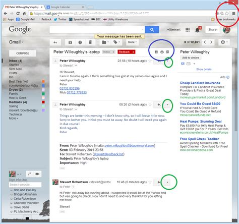 email print printing from gmail redback