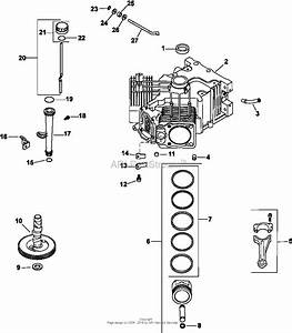 Kohler Cv675 23 Hp  16 4 Kw  17 2 Kw  Parts Diagram For Crankcase 2