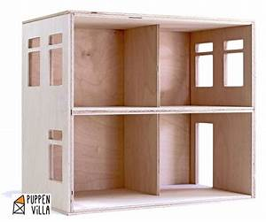Barbiehaus Aus Holz : designer puppenhaus bausatz aus holz von puppenvilla auf ~ Watch28wear.com Haus und Dekorationen