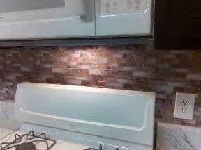 peel and stick kitchen backsplash tiles backsplash peel and stick mosaic wall tile installation