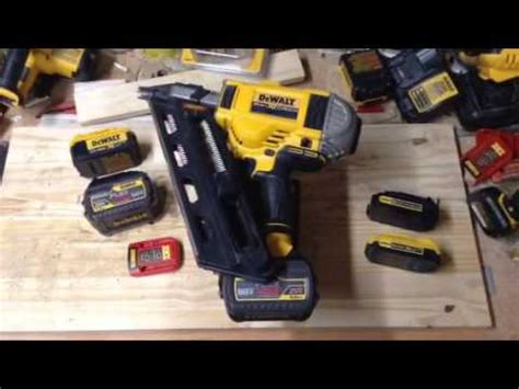 how do cordless ls work dewalt dcn 690 691 692 battery recommendations youtube
