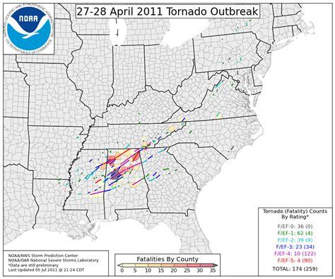 The March 2nd Thru 3rd Tornado Outbreak