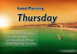 Good Morning Thursday Sms Greetings - Decent Wishes ...