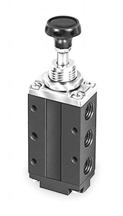 """PARKER 1/4"""" Manual Air Control Valve with 4-Way, 2"""