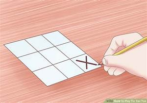 Tic Tac Toe Spiel : how to play tic tac toe 11 steps with pictures wikihow ~ Orissabook.com Haus und Dekorationen
