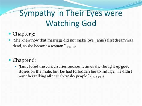 Their Eyes Were Watching God Analysis Quotes
