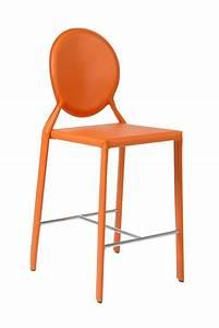 Chaise de bar design tabouret et fauteuil haut pour for Deco cuisine avec chaise cuir design