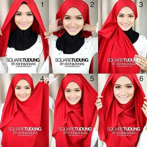 simple stylish hijab tutorials  beginners