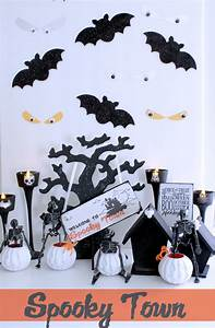 DIY Halloween Decor {Create a Simple Spooky Town} - The