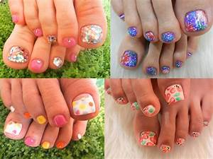 Pedicure Nail Art Designs for Summer|