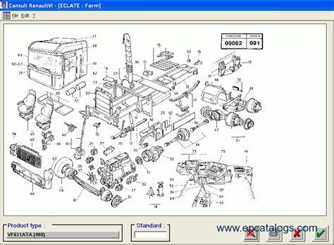 renault consult trucks parts catalogue 2016 spare parts