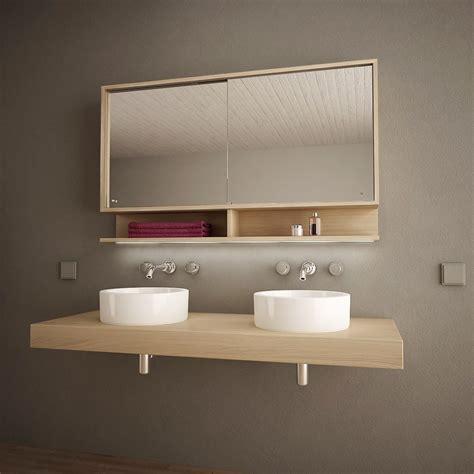 Badezimmer Spiegelschrank Auf Mass by Spiegelschrank Mit Schiebet 252 Ren Und Led Masima 989705218