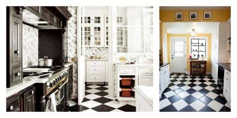 idee sol cuisine carrelage noir et blanc 25 idées originales
