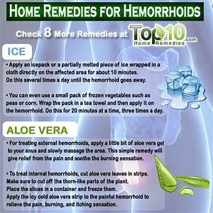 Home Remedies for Hemorrhoids (Piles) | Top 10 Home Remedies