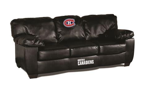 sofa en cuir veritable canadien de montreal salon