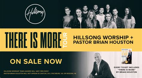 There Is More Tour Features Hillsong Worship
