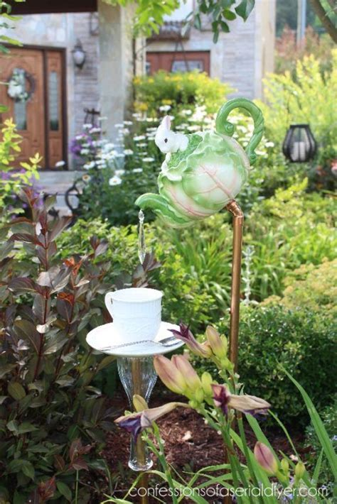 Garden Decoration To Make by 17 Irresistible Diy Teapot Garden Decorations That You