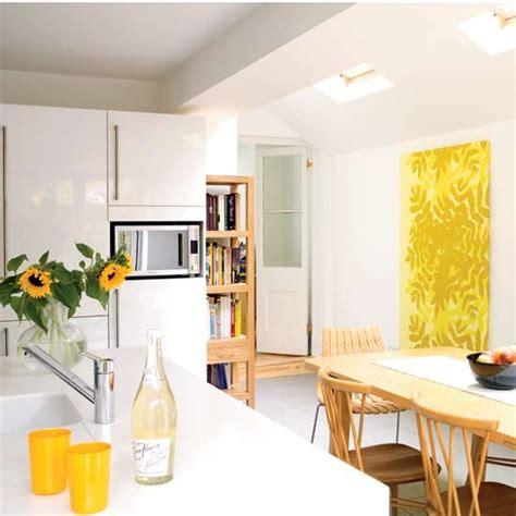 white gloss kitchen diner kitchen design decorating ideas housetohome co uk