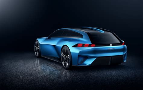Peugeot Instinct Concept Is Like A Shooting Brake From A