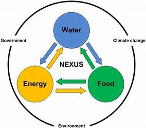 Wef Nexus Schematic Diagram
