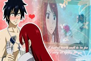 Gray And Erza Kiss | www.pixshark.com - Images Galleries ...