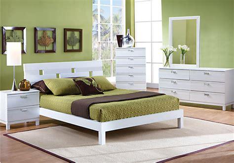 bed room pics gardenia white 5 pc queen platform bedroom bedroom sets white