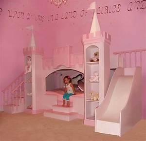 Princess Castle Bed With Slide - Home Design Inside