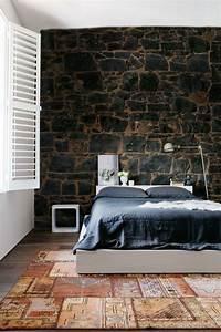 70 ideen fur wandgestaltung beispiele wie sie den raum With balkon teppich mit schöne tapeten für schlafzimmer