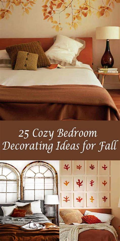 Ideas To Decorate Your Bedroom by 25 Insanely Cozy Ways To Decorate Your Bedroom For Fall