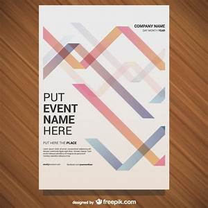 Event poster template Vector | Free Download