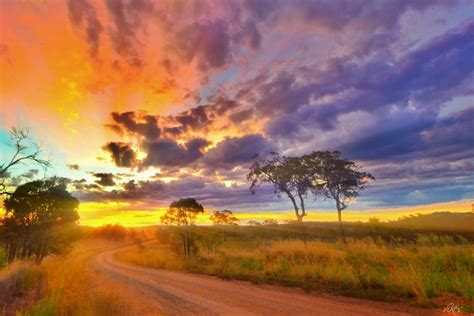 Australia Country Way Outback Queensland