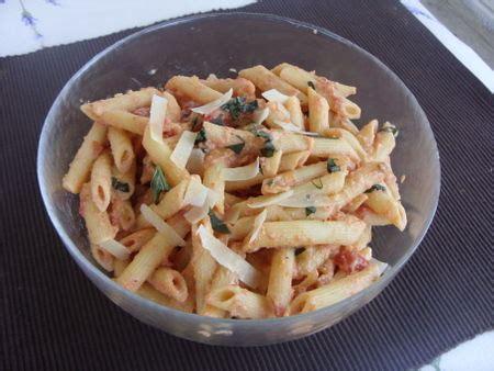 cuisine ww pennes aux tomates et ricotta ww la cuisine de karinette